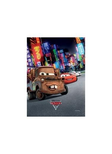Disney Cars-2 50x70 cm Kanvas Tablo Renkli
